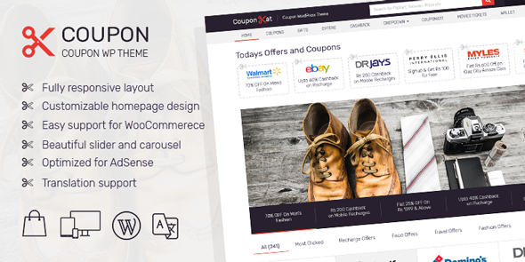 Best WordPress Coupon Theme