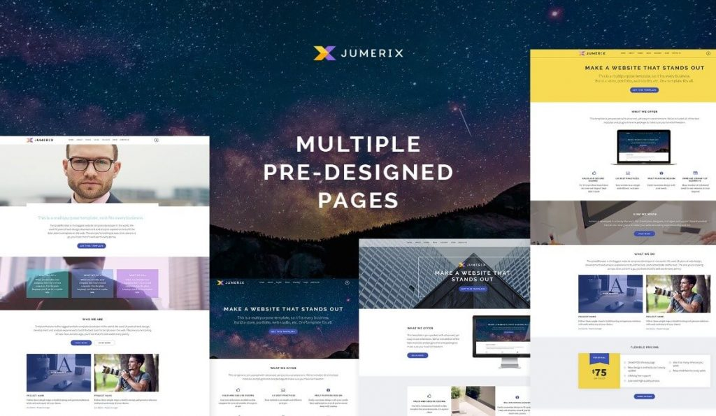 Multipurpose Template for Joomla