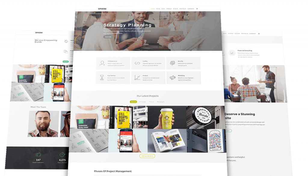 Creative Multipurpose Template