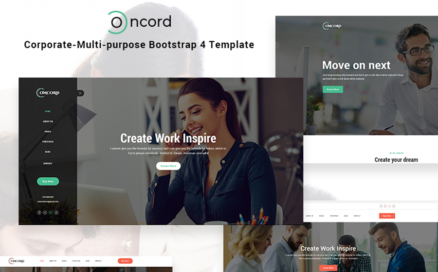 Concord - Multipurpose Website Template