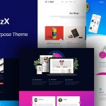 JD BizX - One Page Joomla Template