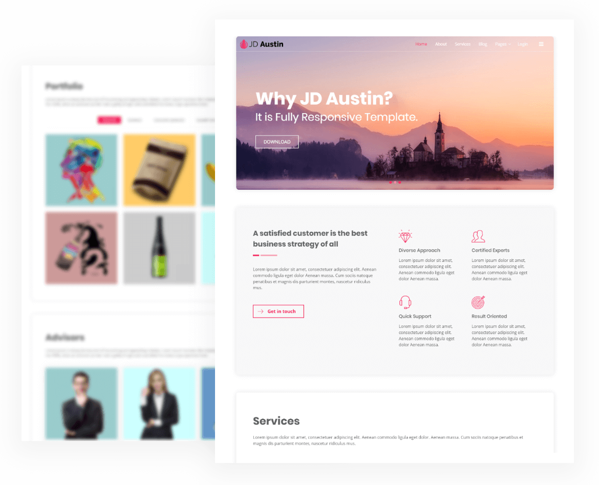 Free Multipurpose Joomla Template