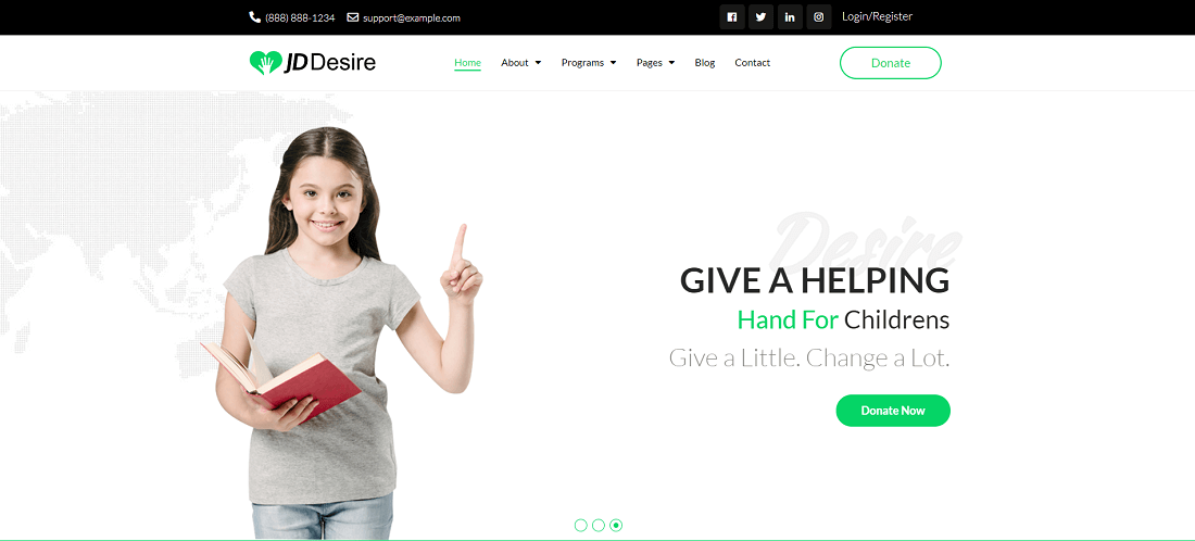 best NGO charity Joomla Template