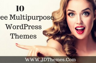 10  Free Multipurpose WordPress Themes